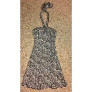 NWOT {City Triangles} Black/White Sequin Dress